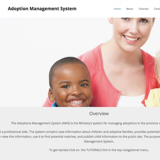 Adoption Management System